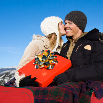 Romantic Sleigh Rides in Breckenridge Colorado