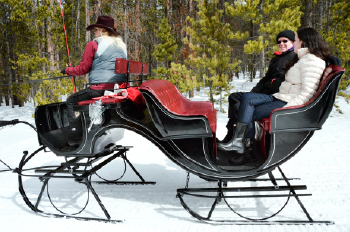 Romantic Sleigh Rides In Breckenridge
